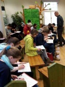 Zooschulbesuch der 8. Klassen