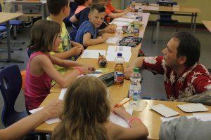 Impression vom Leseabend 2015 mit Schwarwel